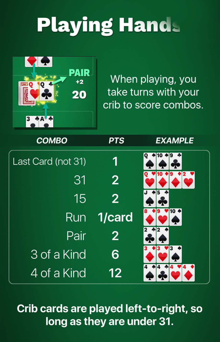 Game Rules Screenshot