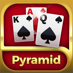 Pyramid Solitaire Cube Icon