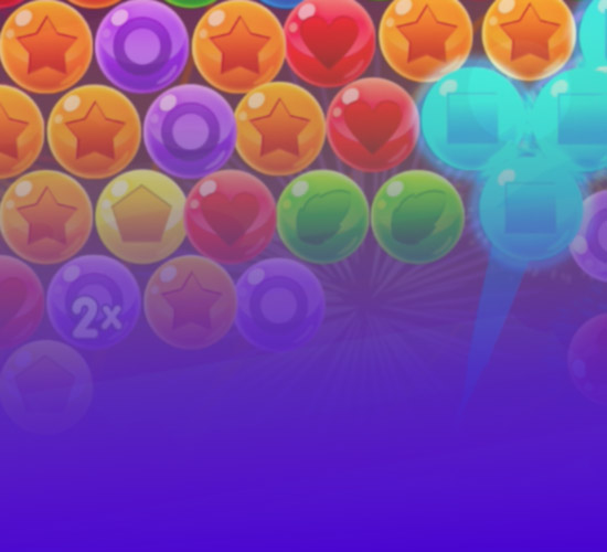 Bubble Cube Background Image