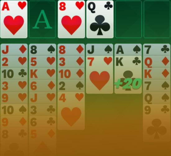 Freecell Solitaire Background Image