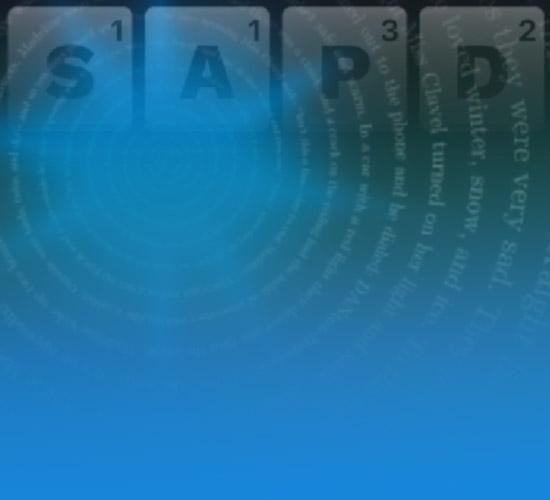 Word Cube Background Image